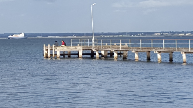 Jetty near the start of Bob McGovan Path, Rippleside