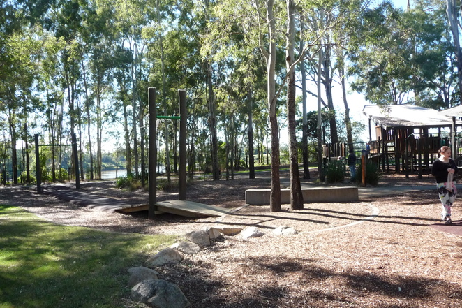 flying fox, playground, Bellbowrie