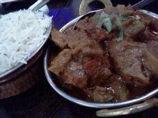 Goat curry @Taste of Taj