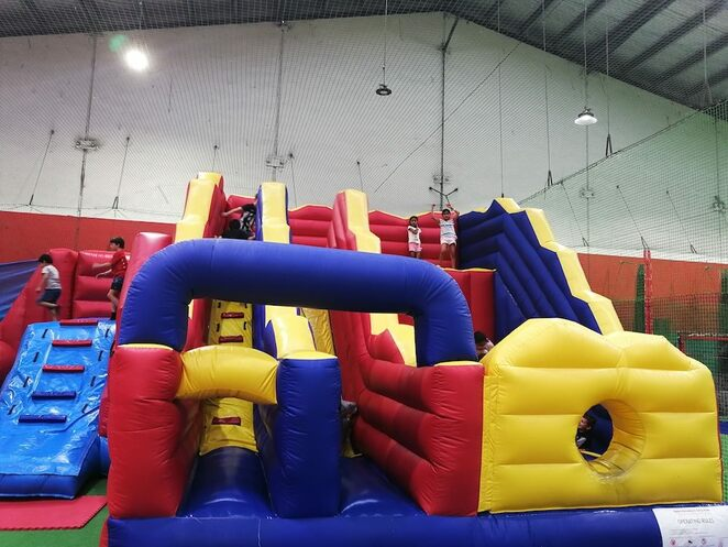 Inflatables at Springvale Indoor Sports