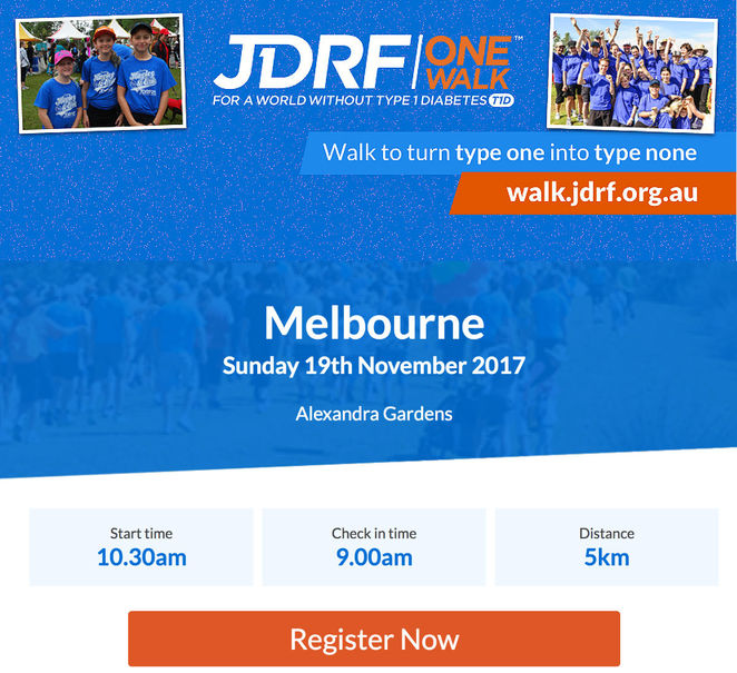 jdrf one walk melbourne, palm lawn, alexandra gardens, type 1 diabetes prevention, type 2 diaetes, t1d, t2d, fundraising event, charity, life changing event, autoimmune disease, blood glucose testing, health and fitness, insulin, children's activities, face painting, sporting activities, marquee, trade stands, medical device companies, diabetes related information, t shirt competition, tug o war, live music, food trucks, community event, fun things to do, change lives, fun for kids, health and wellness