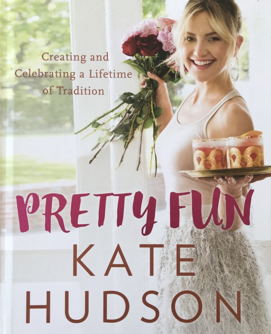 kate hudson, lunch, book, pretty fun, creating and celebrating a lifetie of tradition