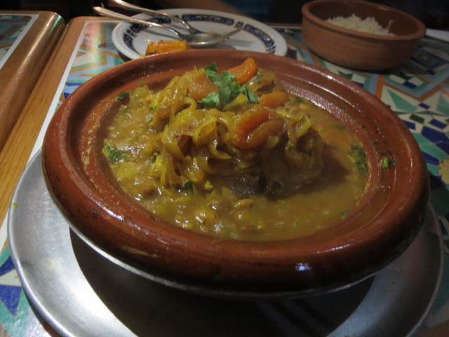 Le Riad Restaurant, Sweet Chicken Tagine, Adelaide