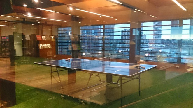 library at the Dock, Docklands library, libraries in Melbourne, free library in Melbourne, table tennis