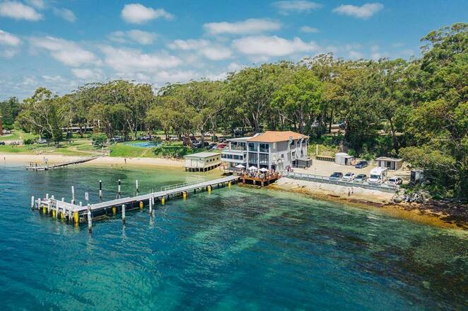 little beach boat house, little beach, nelson bay, port stephens, NSW, mothers day, restaurants, lunch, venues, waterfront, 2020, 2021,