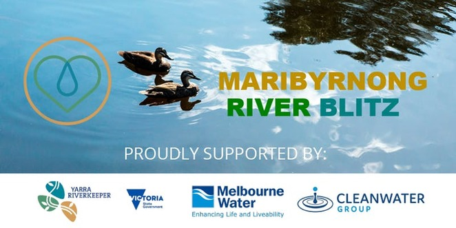 Maribyrnong River Clean up Footscray Rowing Club clean our rivers