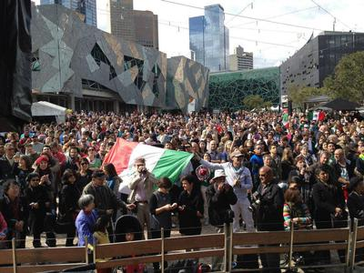 mexican independence day federation square