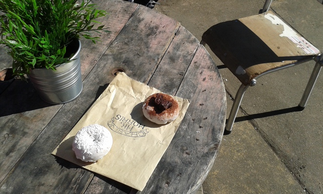 Mr Morris, The Hamlet, Lonsdale Street, Braddon, Canberra, donuts, cakes, coffee