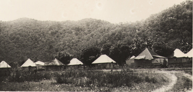 Old holiday cabins on Magnetic Island