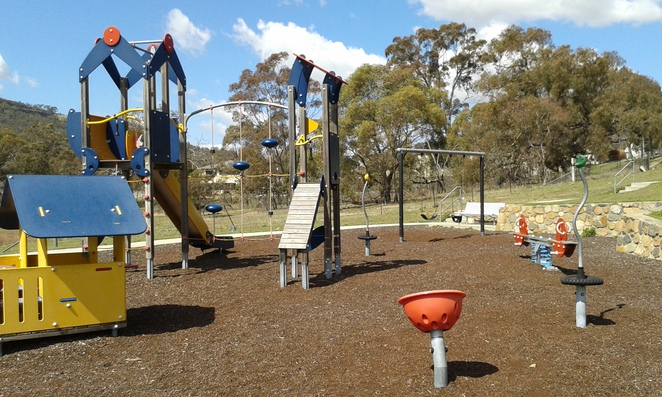o'malley playground, o'malley, canberra, woden, ACT, best parks in woden,
