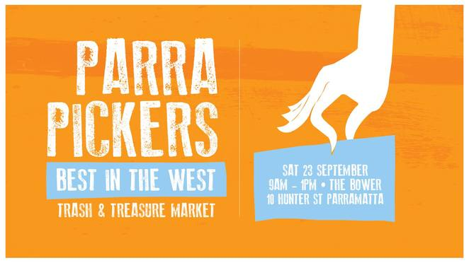 ParraPickers: Best in the West Trash & Treasure Market, The Bower Reuse & Repair Centre