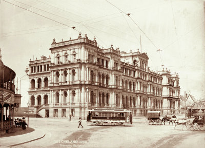Queensland State Archives Treasury Building