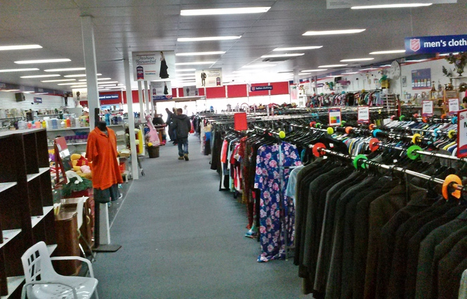 salvos mitchell, canberra, best op shops, biggest op shops, ACT, second hand, thrift,