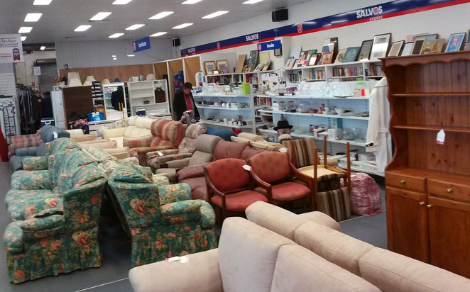 salvos, vinnies, best op shops in canberra, biggest op shops, op shops, second hand, thrift,