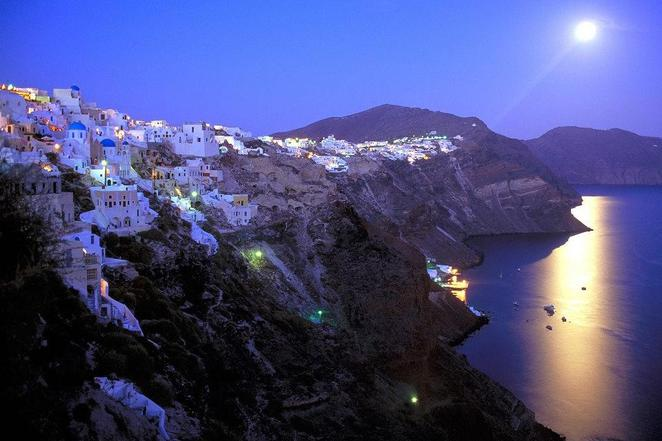 Party in Fira Santorini