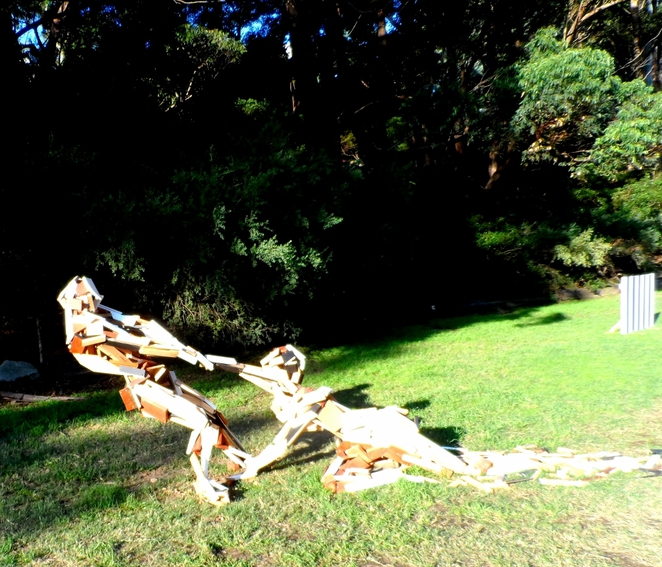 sculpture exhibition, sawmillers reserve, mcmahons point, sydney, sydney harbour foreshore, fragile piece, dissolution?