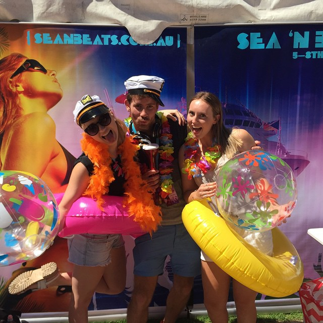 Sea N Beats, Music Festival, Cruise, Queensland, Mystery Island, DJs, Electronic Dance, Australia