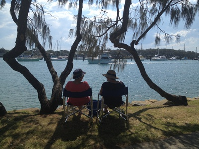 Sit back and relax on the Mooloolah River