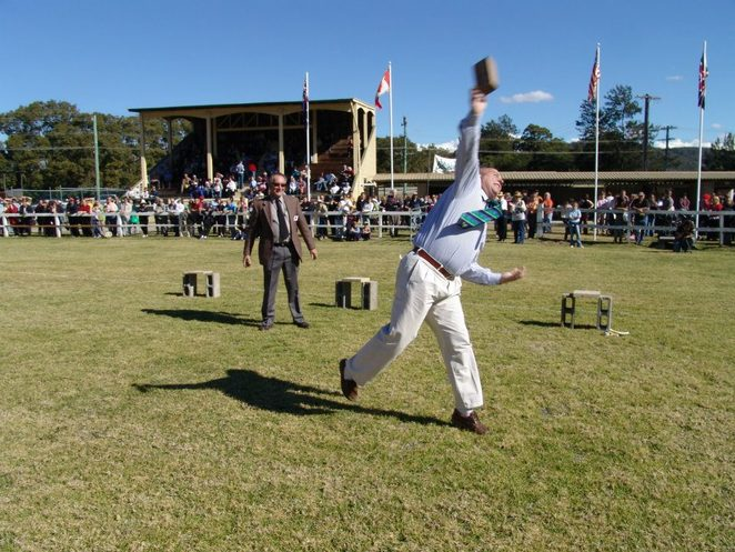 Stroud Brick Throwing Competition