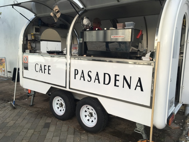 The Pasadena Snacks take away coffee