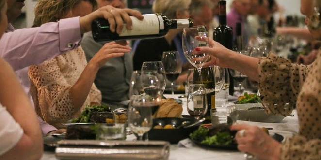the tasting bench, wine discovery dinner, community event, fun things to do, night life, date night, pranzo, winemakers, quality wines