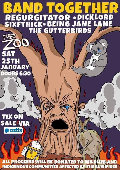 The Zoo, Bushfire fundraiser, music concert, Fortitude Valley