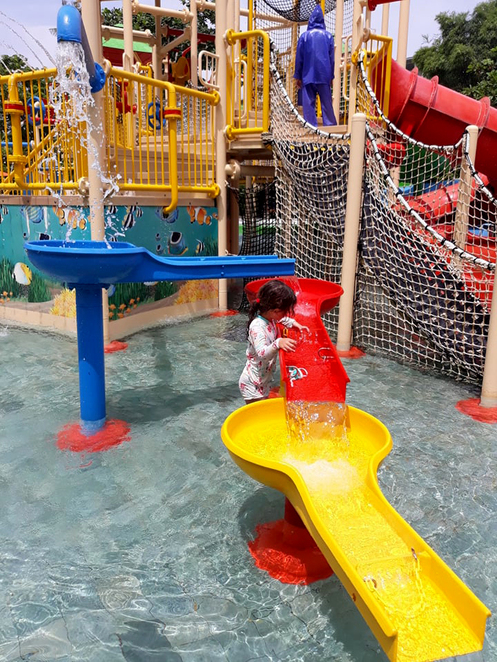 waterbom kids area, kids days out bali