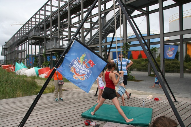 workshops wharf wynyard silo park free kids children activities hoops