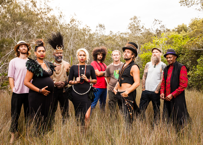 Xavier Rudd and the United Nations Australian Flag Tour
