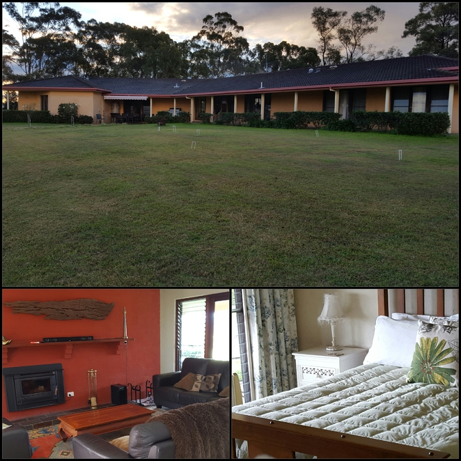 accommodation, lounge rom, bedroom, guesthouse, Hunter Valley