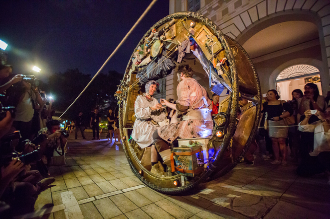 Acrojou, Singapore night festival 2016, National Museum of Singapore, Bras Basah Bugis, SNF, Night festival 2016, The wheel house