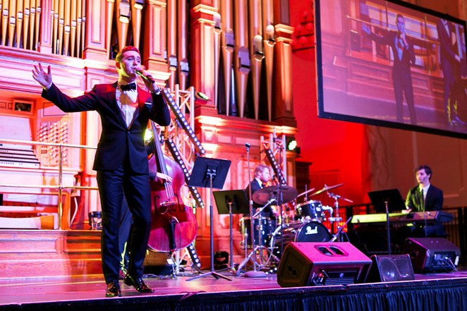 Adelaide, Red Ball, Glamup, ball gown, Adelaide town hall, fight cancer foundation, back on track program, tim noonan, Harrison craig, aurora strings, the talent company