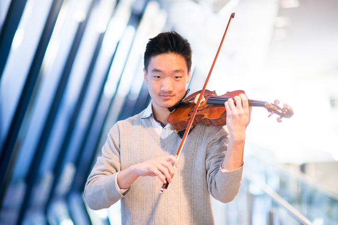 Andrew Wang, String Sensations, Queensland Youth Orchestra