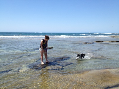 Anyone can enjoy the rock pools
