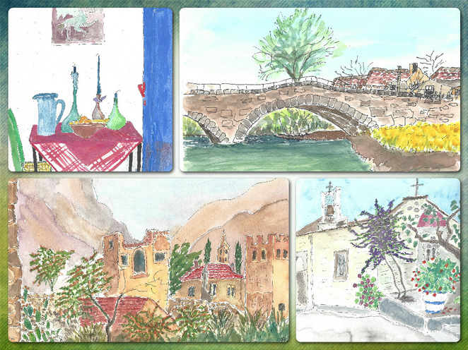 Art Cards, Calendars by artist Valerie Helps and Geoffrey Bull