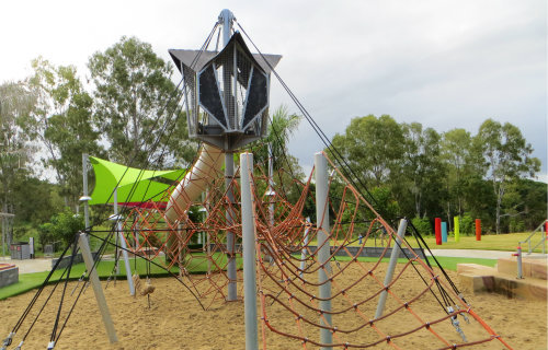 Bob Gamble Park Riverheart Parklands playground