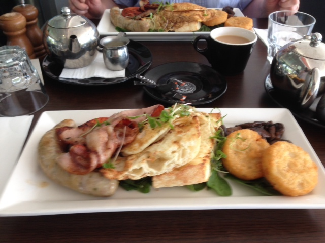 Breakfast at The Pepper Lounge