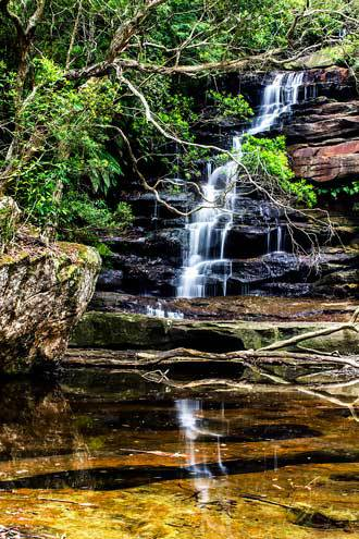 Brisbane Waters National park, somersby falls, water falls, picnic area, NSW, central coast,