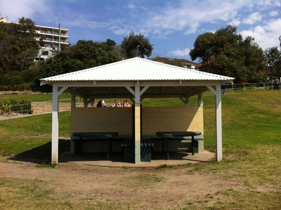 Bronte Beach Picnic Tables