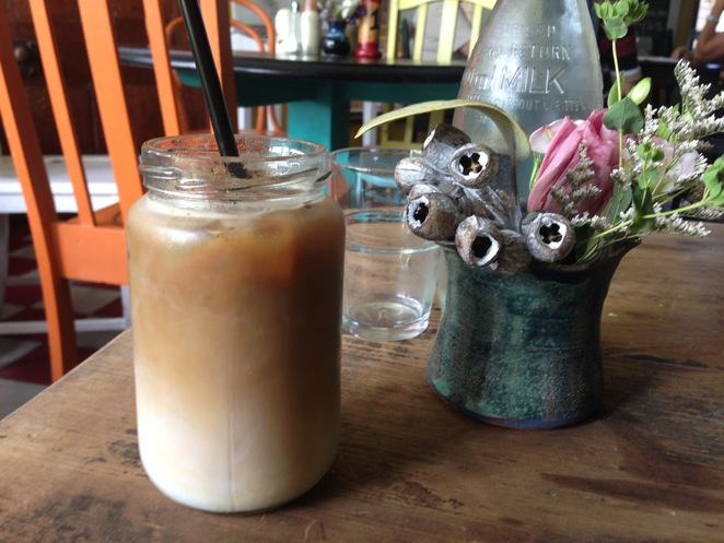 Cafe on Cusack Iced Latte