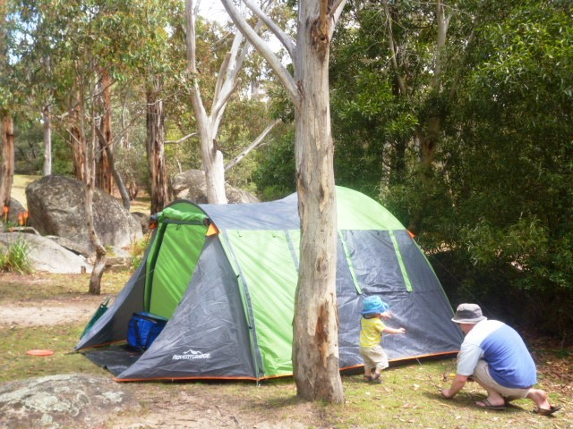 camping in canberra