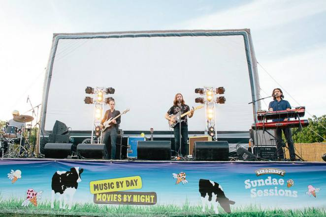 canberra open air cinema, canberra, 2016, outdoor movies in canberra, ben and jerrys,