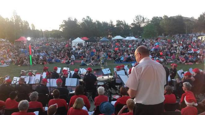 Carols in Town Park, Tuggeranong, Canberra 2016, 2016, Christmas carols 2016 canberra,