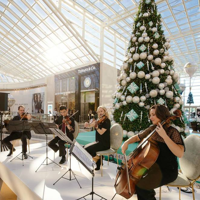 chadstone shopping christmas special event , christmas sales