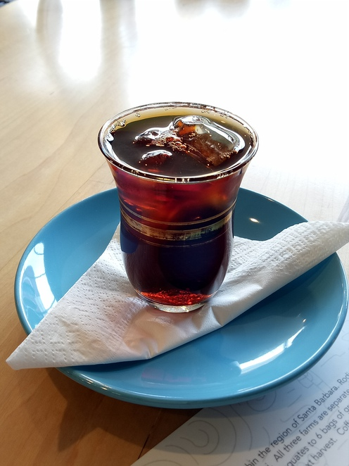Cold drip coffee, cafe, coffee, aunty pegs, collingwood
