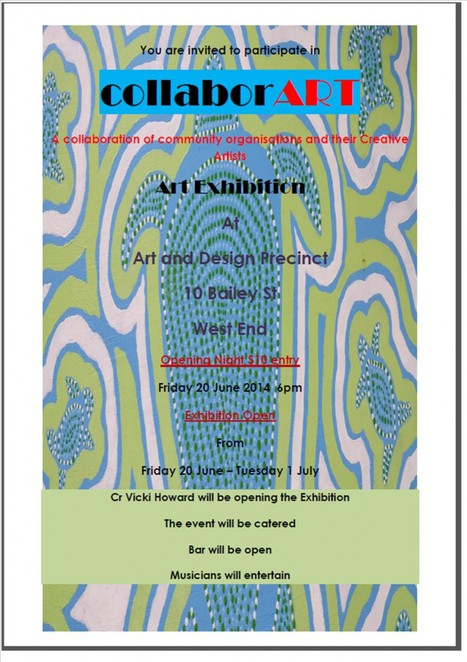 CollaborArt Exhibition at West End