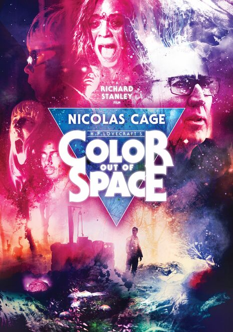 color out of space film review 2020, community event, fun things to do, movie review, movie buffs, cinema, date night, night life, family fun, entertainment, performing arts, actors, actresses, nicolas cage, richard stanley, joely richardson, madeleine arthur, brendan meyer, julian hilliard, elliiot knight