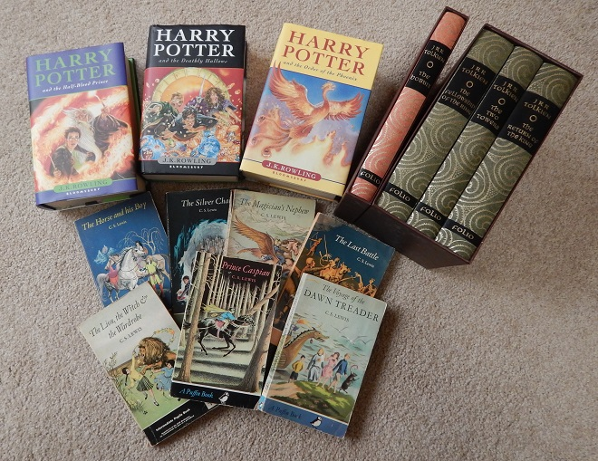 Fantasy books, Narnia, Lord of the Rings, Harry Potter, Game Obsession Expo, Mannum