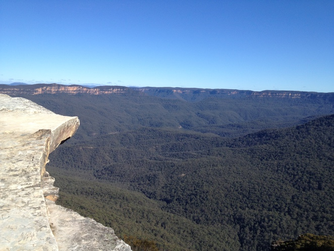 Flat Rock, Wedding Rock, Wentworth Falls, Blue Mountains