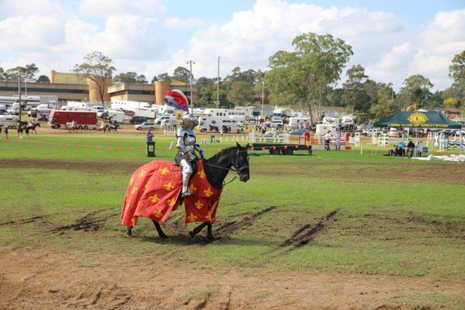 Fun for kids, castle hill show, castle hill, agricultural show, free for kids, relaxed atmosphere, jousting